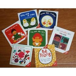 Sách Ehon Nhật Bản  Bộ 7 Cuốn 0-3 Tuổi