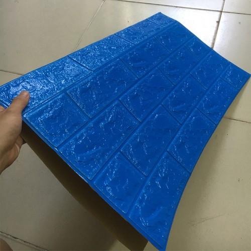 Xốp dán tường 3D - Loại dày 6mm- Màu xanh dương - 5777245 , 9791522 , 15_9791522 , 39000 , Xop-dan-tuong-3D-Loai-day-6mm-Mau-xanh-duong-15_9791522 , sendo.vn , Xốp dán tường 3D - Loại dày 6mm- Màu xanh dương