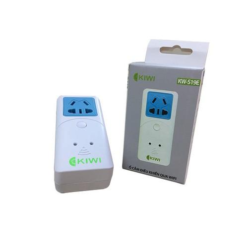 Ổ cắm điện thông minh điều khiển thiết bị qua wifi KW-S19E