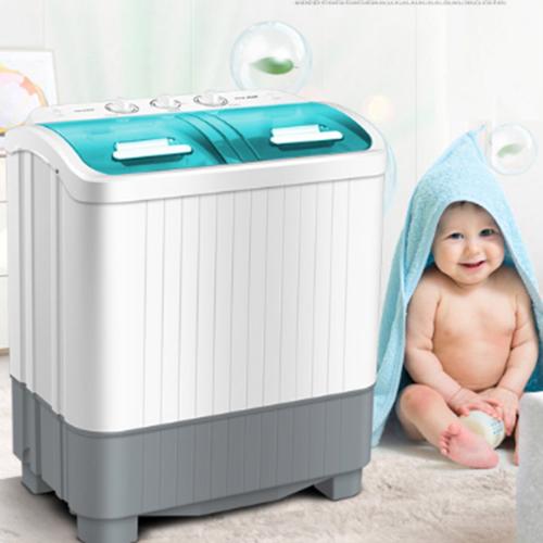 Máy giặt mini AUX 2 lồng giặt - 5777109 , 9791063 , 15_9791063 , 3500000 , May-giat-mini-AUX-2-long-giat-15_9791063 , sendo.vn , Máy giặt mini AUX 2 lồng giặt