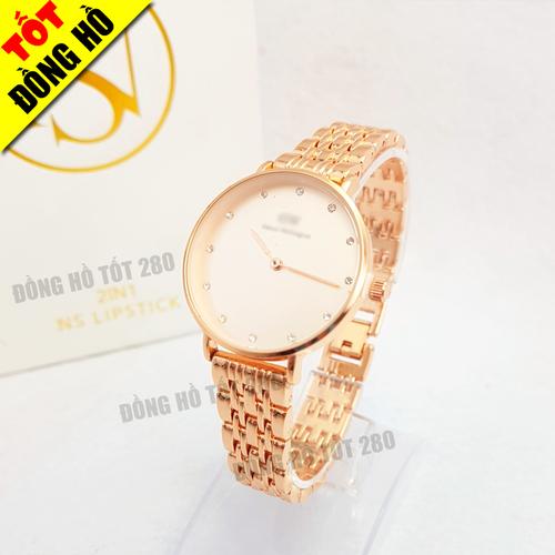 Đồng hồ nữ màu Rose Gold