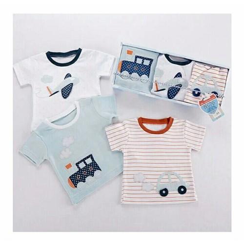 Set áo phông ô tô cho bé