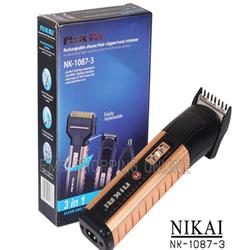Tông đơ cắt tóc gia đình người lớn và trẻ nhỏ đa năng 4 in 1 Cắt tóc, cạo râu, tỉa lông mũi và tỉa lông mày chuyên nghiệp Kimei KM 6630