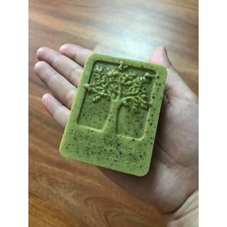 Xà phòng Handmade trà xanh + sữa tươi - 0001978 thumbnail