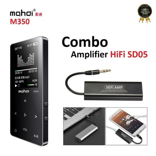 Máy nghe nhạc Lossless Mahdi M350 8GB và Headamp HiFi SD05