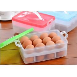 Hộp nhựa đựng trứng 24 quả tiện dụng