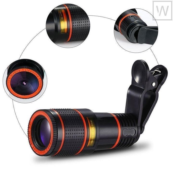Lens zoom 8X - Ống kính cho điện thoại, máy tính bảng 1