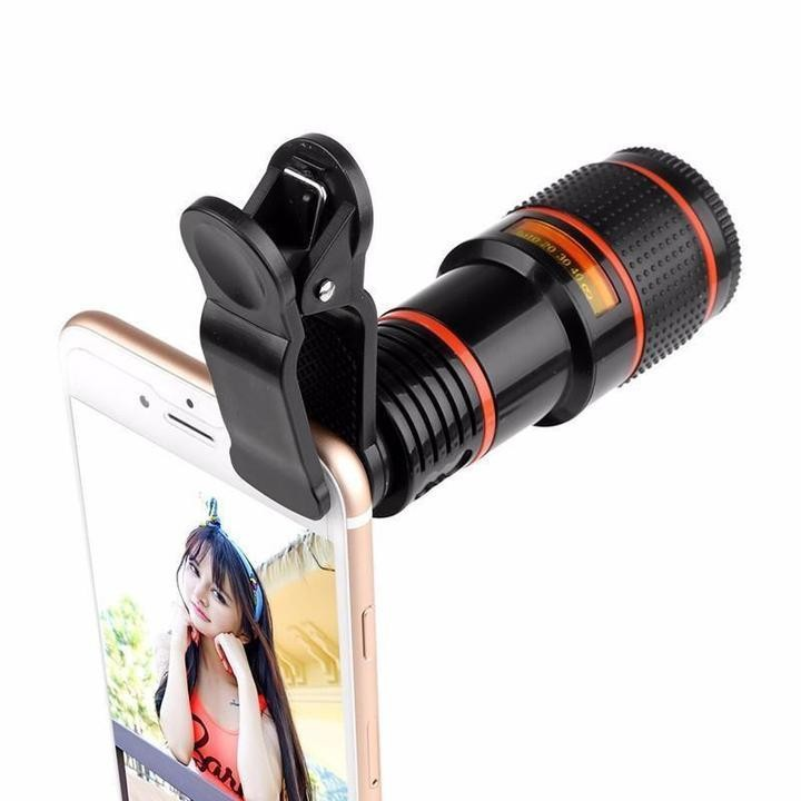 Lens zoom 8X - Ống kính cho điện thoại, máy tính bảng 3