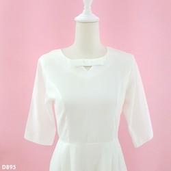 Đầm trắng xinh iu