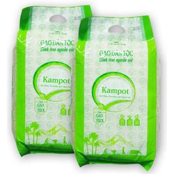 Gạo Kampot 5kg - gạo trắng hạt dài, dẻo nhiều thơm ngon cơm
