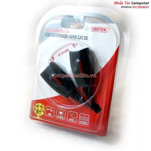 Thiết Bị Nối dài USB 50m qua cáp mạng LAN Unitek Y-2505 Chính hãng - 5778471 , 9793073 , 15_9793073 , 350000 , Thiet-Bi-Noi-dai-USB-50m-qua-cap-mang-LAN-Unitek-Y-2505-Chinh-hang-15_9793073 , sendo.vn , Thiết Bị Nối dài USB 50m qua cáp mạng LAN Unitek Y-2505 Chính hãng