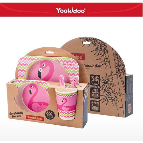 Bộ dụng cụ tập ăn dành  cho trẻ em chính hãng Yokidoo -AL - 5779608 , 9794549 , 15_9794549 , 424000 , Bo-dung-cu-tap-an-danh-cho-tre-em-chinh-hang-Yokidoo-AL-15_9794549 , sendo.vn , Bộ dụng cụ tập ăn dành  cho trẻ em chính hãng Yokidoo -AL