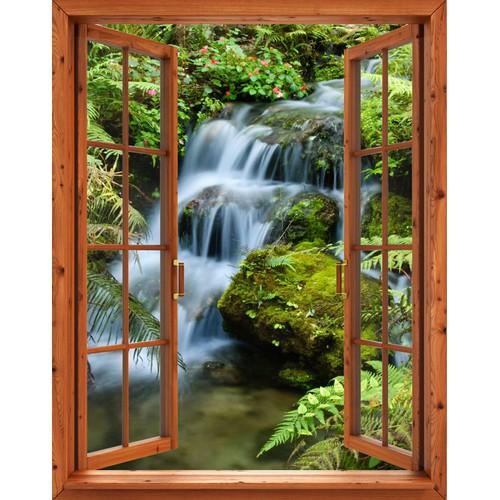 Tranh dán tường cửa sổ gỗ 3D khổ dọc cảnh thác nước VTC VT0267-1 - 5787130 , 9807903 , 15_9807903 , 539000 , Tranh-dan-tuong-cua-so-go-3D-kho-doc-canh-thac-nuoc-VTC-VT0267-1-15_9807903 , sendo.vn , Tranh dán tường cửa sổ gỗ 3D khổ dọc cảnh thác nước VTC VT0267-1