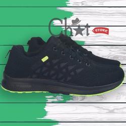 Giày Sneaker Nam Thời Trang Đen Cực Chất
