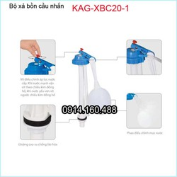 Phao cấp nước bàn cầu, bộ cấp nước trong thùng nước bàn cầu KAG-XBC20-1