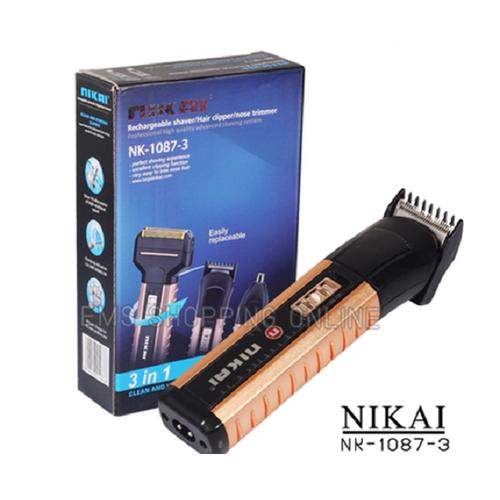 Tông Đơ Cắt Tóc, Cạo Râu, Cắt Lông Mũi NIKAI NK-1087-3