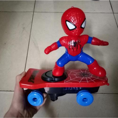 Ván trượt siêu nhân nhện, đồ chơi người nhện trượt ván cho bé - 5024651 , 9807612 , 15_9807612 , 100000 , Van-truot-sieu-nhan-nhen-do-choi-nguoi-nhen-truot-van-cho-be-15_9807612 , sendo.vn , Ván trượt siêu nhân nhện, đồ chơi người nhện trượt ván cho bé