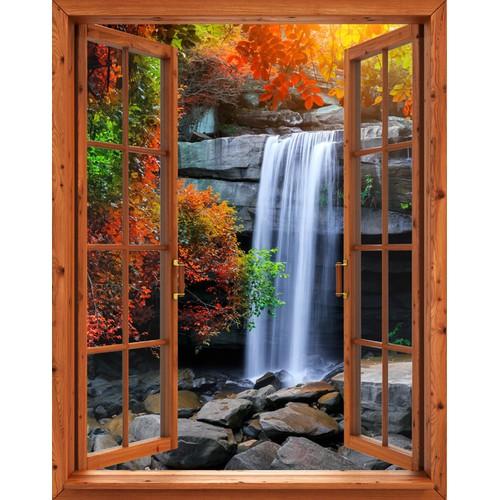 Tranh dán tường cửa sổ gỗ 3D khổ dọc cảnh thác nước VTC VT0266-1 - 5024693 , 9807726 , 15_9807726 , 539000 , Tranh-dan-tuong-cua-so-go-3D-kho-doc-canh-thac-nuoc-VTC-VT0266-1-15_9807726 , sendo.vn , Tranh dán tường cửa sổ gỗ 3D khổ dọc cảnh thác nước VTC VT0266-1