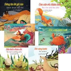 Combo 6 Truyện ngụ ngôn Song ngữ Anh - Việt