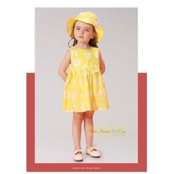 váy thô hoa vàng