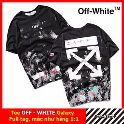 Áo tee OFF WHITE, áo phông OFF WHITE Galaxy 02