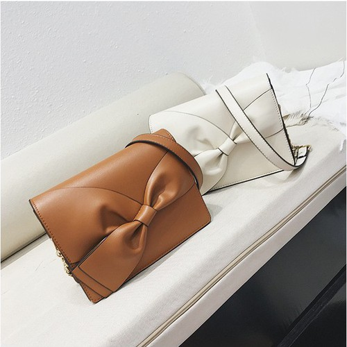 Túi đeo chéo nơ xinh xắn
