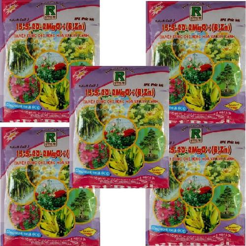 Bộ 05 Phân bón gốc NPK dùng cho hoa, cây cảnh Refresh Gold 200gr - 5787411 , 9808759 , 15_9808759 , 109000 , Bo-05-Phan-bon-goc-NPK-dung-cho-hoa-cay-canh-Refresh-Gold-200gr-15_9808759 , sendo.vn , Bộ 05 Phân bón gốc NPK dùng cho hoa, cây cảnh Refresh Gold 200gr