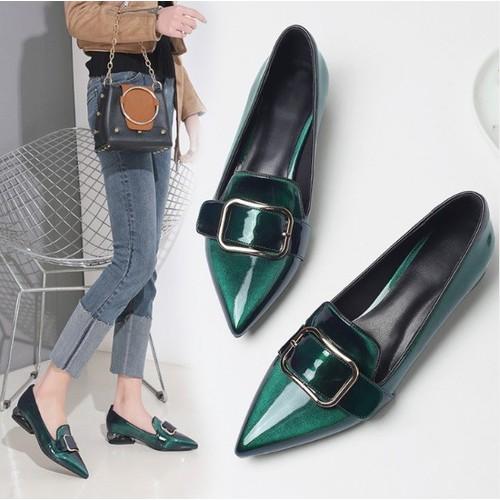 G0159 - Giày bít cao cấp Hong Kong - giá 1.250k