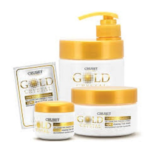 Kem ủ tóc Cruset gold crystal 500ml