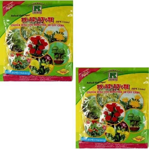 Bộ 02 Phân bón gốc NPK dùng cho hoa, cây cảnh Gold Super 200gr - 5787162 , 9808027 , 15_9808027 , 49000 , Bo-02-Phan-bon-goc-NPK-dung-cho-hoa-cay-canh-Gold-Super-200gr-15_9808027 , sendo.vn , Bộ 02 Phân bón gốc NPK dùng cho hoa, cây cảnh Gold Super 200gr