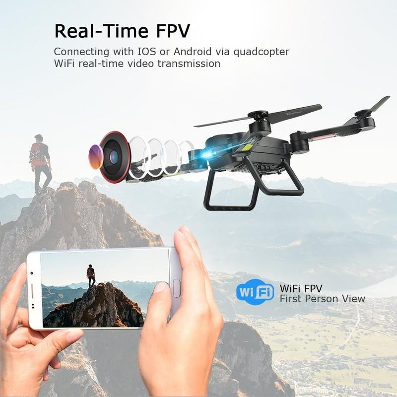 Máy bay điều khiển có cameraSkyhunter RC Quadcopter Drone flycam 8