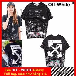 Áo tee OFF WHITE, áo phông OFF WHITE Galaxy