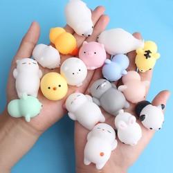 Combo 20 con mochi thú dẻo squishy dễ thương xinh xắn 170k