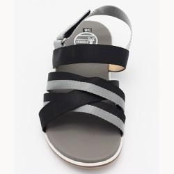 Giày Sandal quai  _ Đen Xám