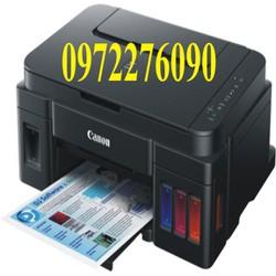 máy in phun màu đa chức năng Canon G3000 - In - Scan - Copy - Wifi