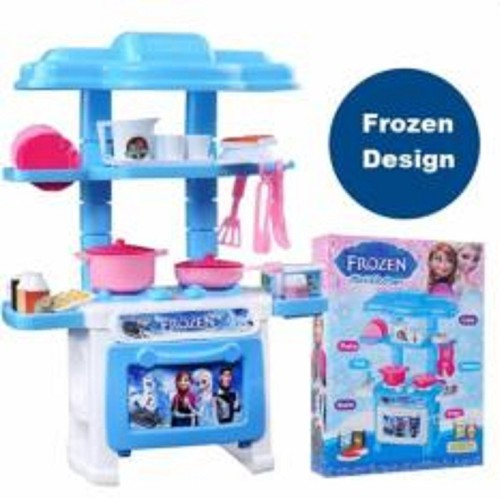 Bộ đồ chơi nấu ăn nữ hoàng băng giá mini kitchen frozen