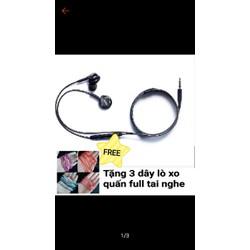 CÓ SẴN - Tai nghe S8 tặng thêm 3 dây lò xo quấn bảo vệ tai nghe