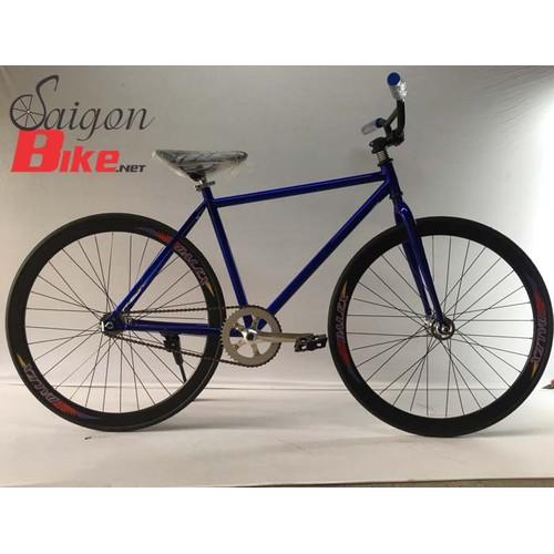 Xe đạp Fixed Gear màu xanh dương - 5663128 , 9568252 , 15_9568252 , 1860000 , Xe-dap-Fixed-Gear-mau-xanh-duong-15_9568252 , sendo.vn , Xe đạp Fixed Gear màu xanh dương