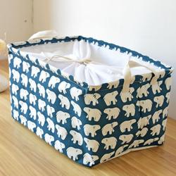 Giỏ vuông thấp con voi