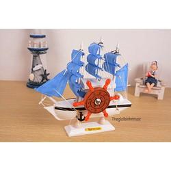 Quà Tặng Sinh Nhật Hình Thuyền Buồm Xanh Dương Cực Dễ Thương