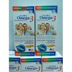 Viên uống omega 3 bổ não sáng mắt đẹp da hộp 100v
