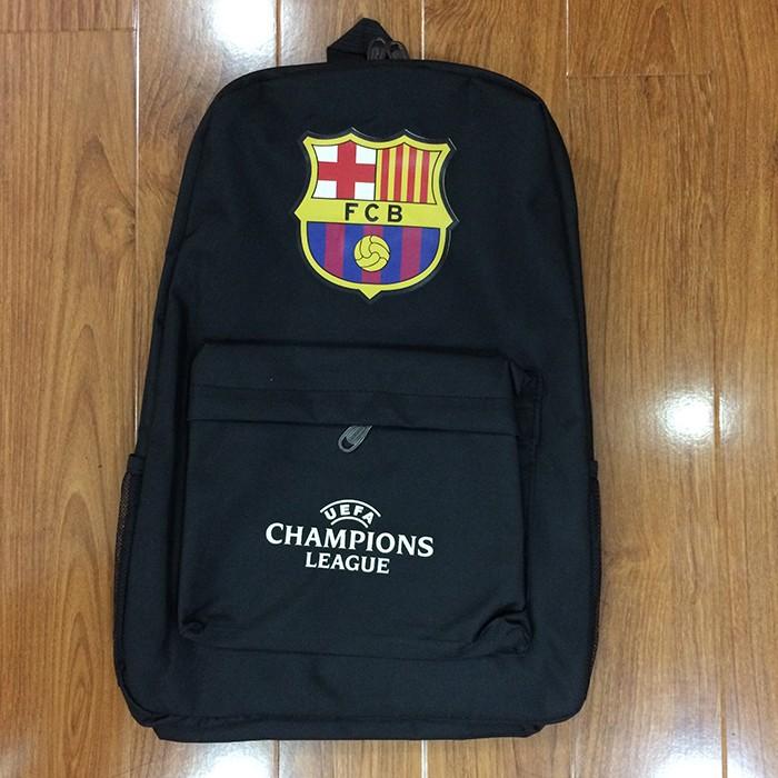 Ba lô vải dù logo Barcelona N174 1