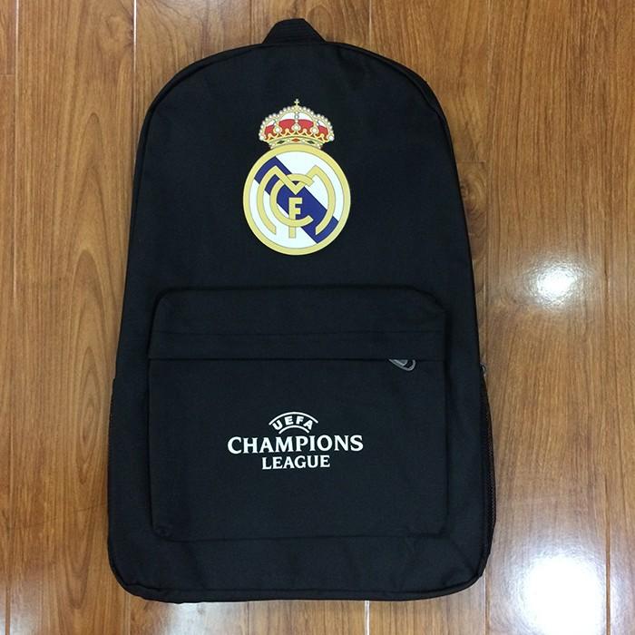 Ba lô vải dù logo Real Madrid N173 1