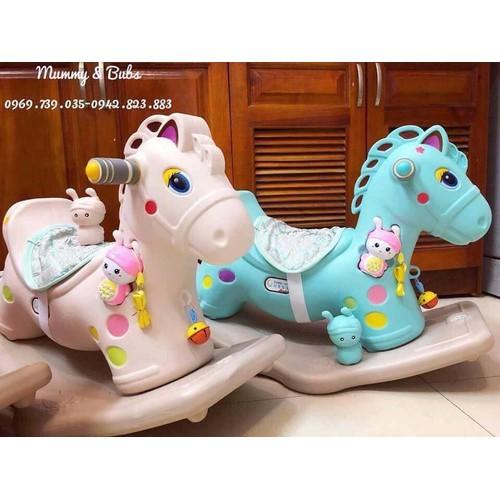 Ngựa bập bênh có nhạc cho bé - 5661557 , 9565301 , 15_9565301 , 490000 , Ngua-bap-benh-co-nhac-cho-be-15_9565301 , sendo.vn , Ngựa bập bênh có nhạc cho bé