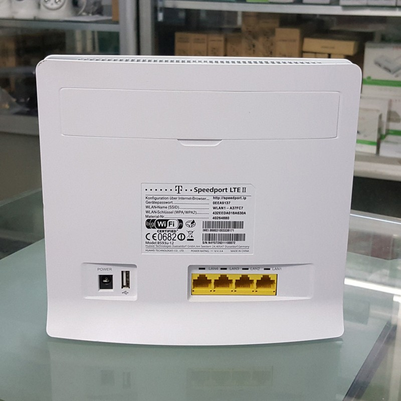 Bộ phát wifi 4G Hua wei B593 Modem Wifi 3G 4G LTE 32 user 2