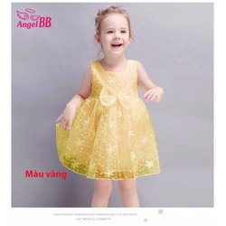 Đầm ren công chúa cho bé đi chơi đi tiệc mùa hè hàng vnxk