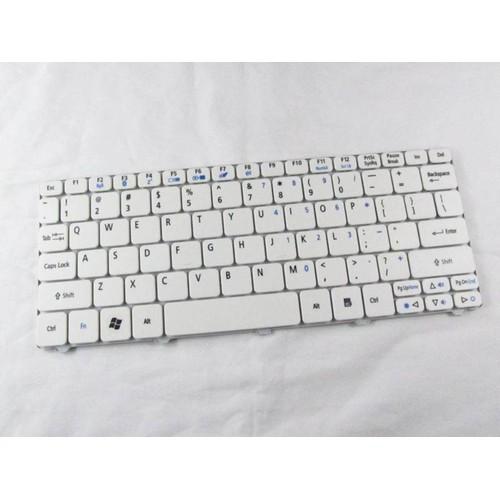 Bàn phím Laptop Acer- D255 Trắng