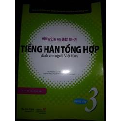 Bộ Tiếng hàn tổng hợp dành cho người Việt Nam Trung Cấp 3