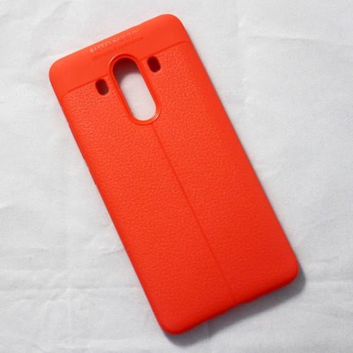 Ốp dẻo Huawei Mate 10 Pro lưng sần cam