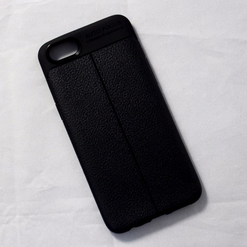 Ốp lưng dẻo Oppo A83 giả da đen - 5660784 , 9564193 , 15_9564193 , 65000 , Op-lung-deo-Oppo-A83-gia-da-den-15_9564193 , sendo.vn , Ốp lưng dẻo Oppo A83 giả da đen